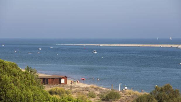 Playa de El Rompido, en Huelva