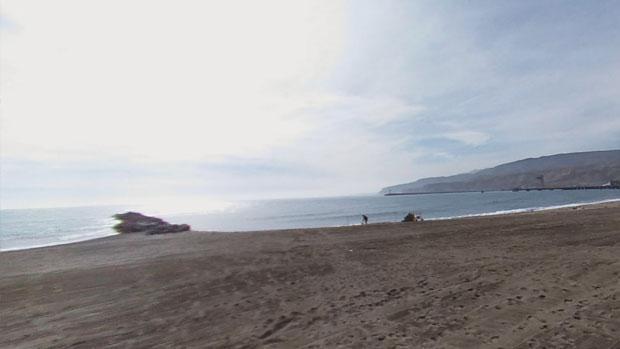 Playa del Zapillo en Almería