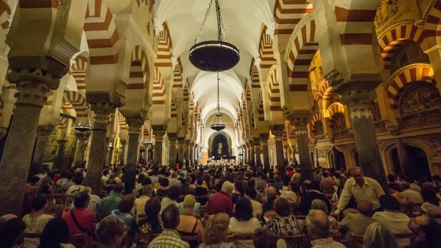 Concierto del Festival de Piano Guadalquivir en la Mezquita-Catedral de Córdoba