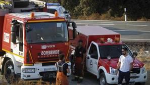 El alcalde de La Granada: «las llamas están quemando la economía de todo el pueblo»