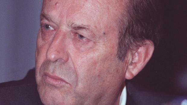 El expresidente del Córdoba CF Joaquín Bernier, en su última etapa como consejero del club