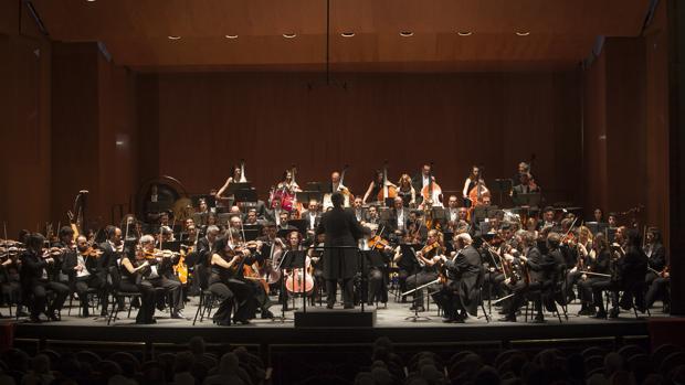 La Orquesta de Córdoba, durante un concierto