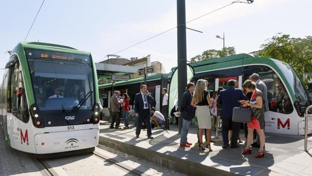 El metro de Granada comenzó a funcionar el pasado jueves