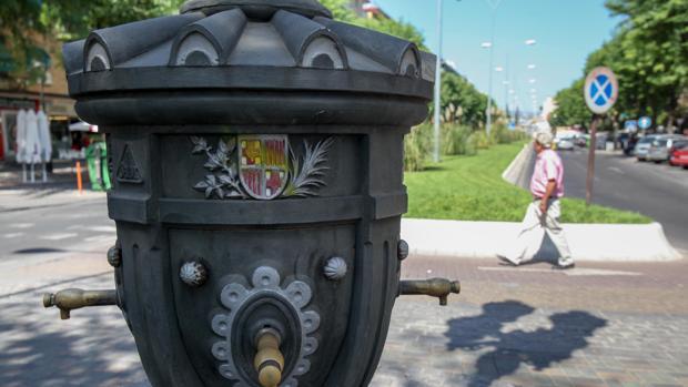 Réplica de la fuente de Canaletas de la Avenida de Barcelona de Córdoba