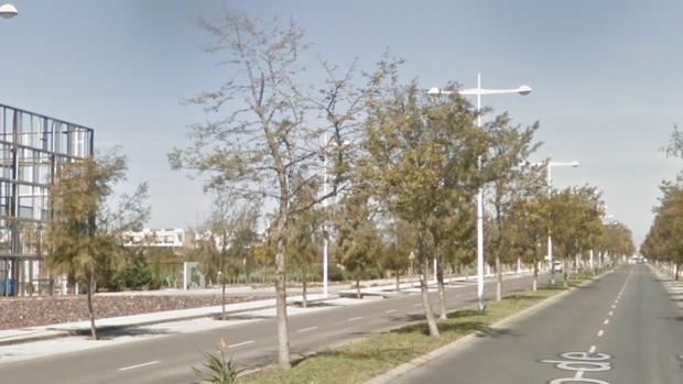 El violento robo se ha producido en una tienda textil de la Carretera del Cabo de Gata, en Almería