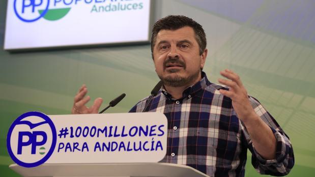 Toni Martín, vicesecretario de Organización del PP andaluz
