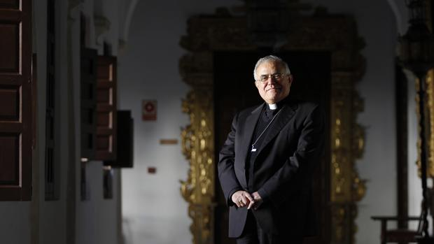 El obispo de Córdoba, monserñor Demetrio Fernández