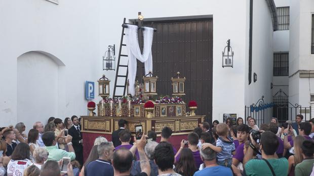 Santa Cruz de la hermandad de Pasión