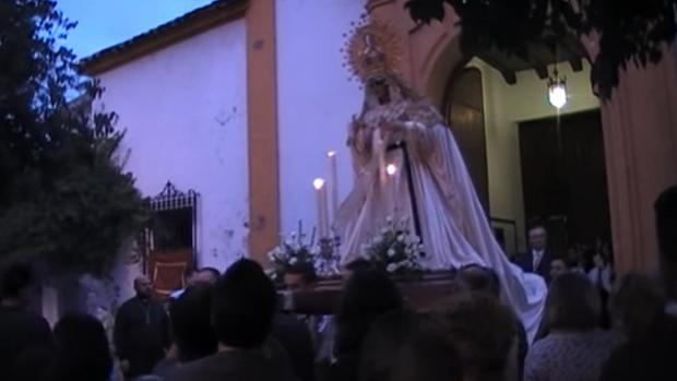La Virgen de la Merced inicia su rosario al amanecer