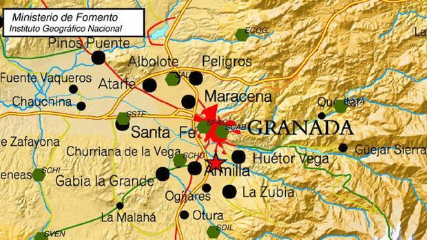 Varios vecinos de la capital granadina han avisado del temblor