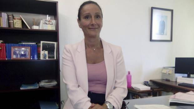 La juez Núñez en su despacho