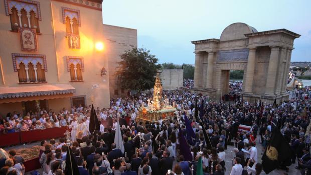La Custodia de Arfe, en la procesión del Corpus Christi