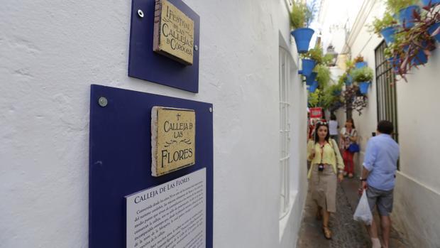 La calleja de las Flores, incluida en las rutas del festival