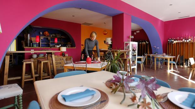 Restaurante Amaltea, en la Ribera