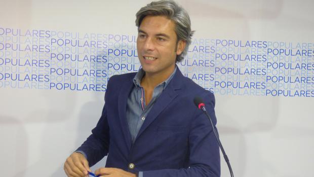 El portavoz del PP en la Diputación, Andrés Lorite