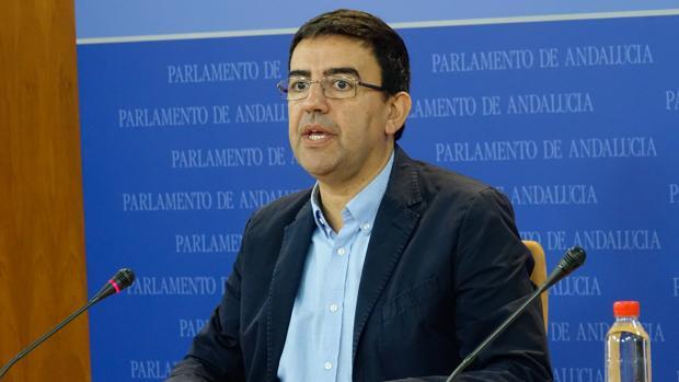 El portavoz socialista en Andalucía, Mario Jiménez