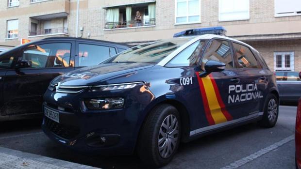 Automóvil de la Policía Nacional en una imagen de archivo