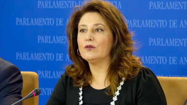 La portavoz del PP en el Parlamento de Andalucía, Carmen Crespo