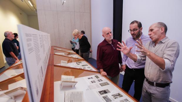 Algunas de las piezas que forman parte de la exposición