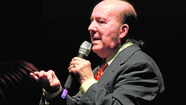 El humorista malagueño Chiquito de la Calzada, en una de sus actuaciones
