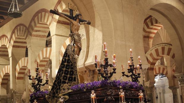 La Expiración, en el interior de la Santa Iglesia Catedral