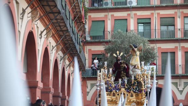 El Huerto, durane su procesión en el Domingo de Ramos