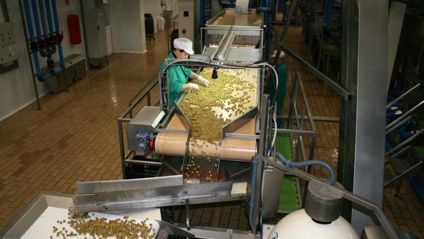 La industria agroalimentaria es el princpal campo de ventas de Córdoba a Cataluña