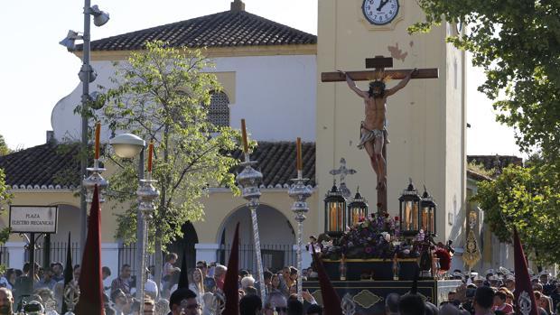 El Cristo de la Oración y Caridad, el pasado Sábado de Pasión