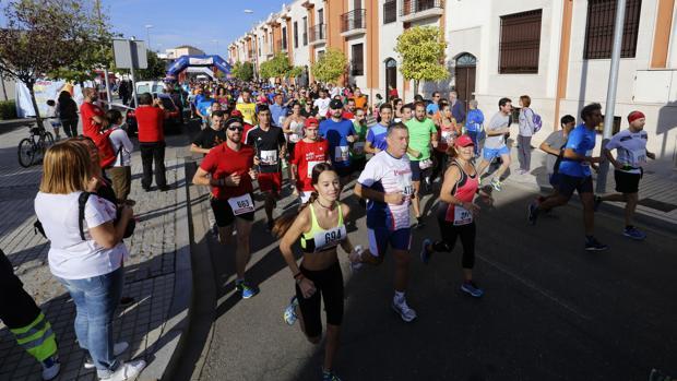 Una de las Carreras Populares de la provincia de Córdoba