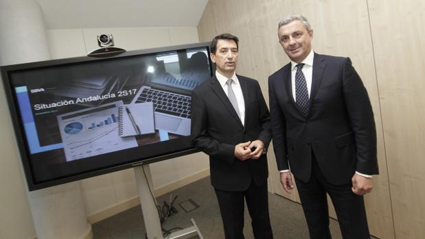 Rafael Domenech y José Ballester presentaron el informe sobre Economía en Andalucía de BBVA Research