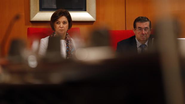 La alcaldesa de Córdoba presidiendo un Pleno del Ayuntamiento