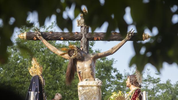 El Cristo de Gracia, el pasado Jueves Santo