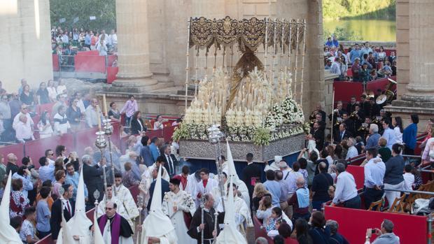 Hermandad de la Merced el Lunes Santo de 2017