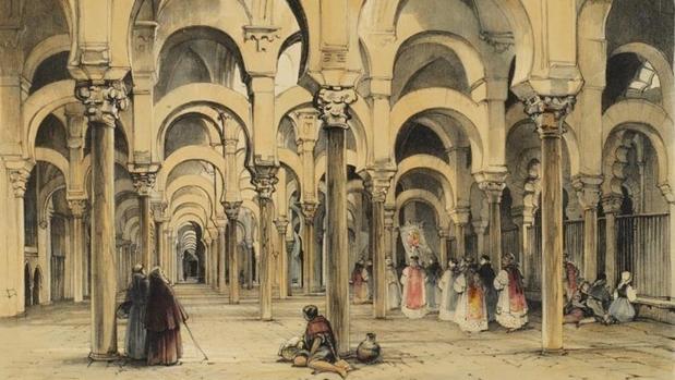 «Mezquita de Córdoba», de John Frederic Lewis, impreso en 1836