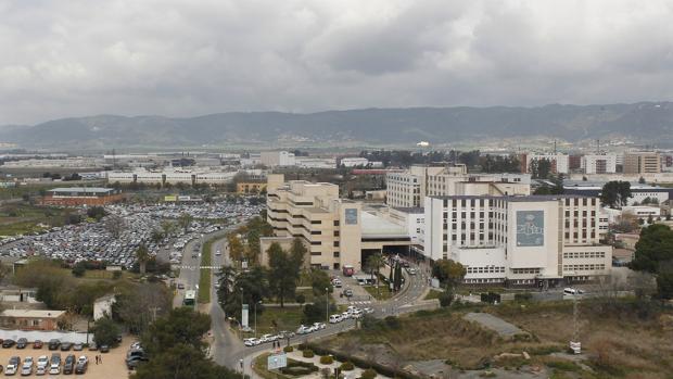 Vista del hospital Reina Sofía de Córdoba