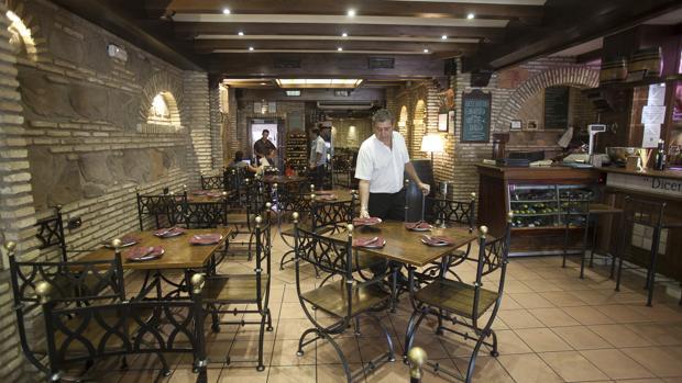 Imagen del interior de la Taberna Moriles