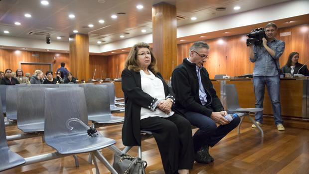 Carmen Marín, durante el juicio que se celebró contra ella en la Audiencia de Málaga