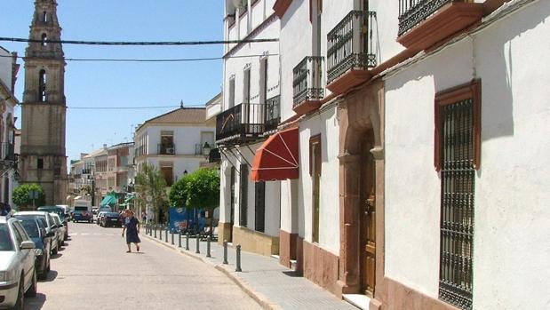Una de las calles de Bujalance