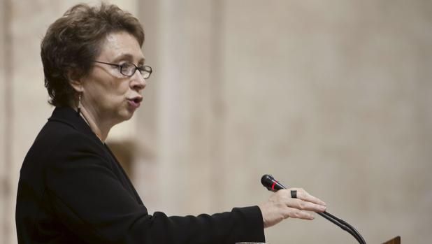 La exconsejera Carmen Martínez Aguayo en una imagen de archivo