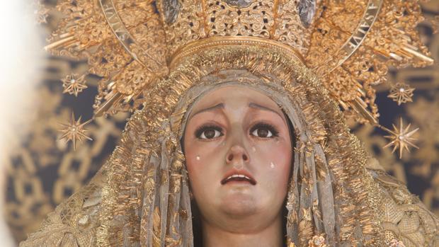 María Santísima de la Merced, un Lunes Santo