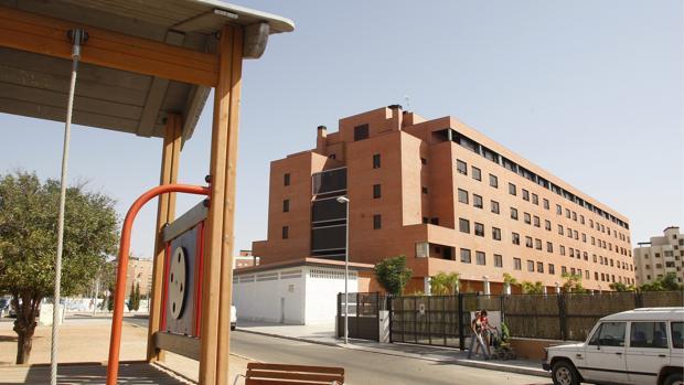 Calle Periodista Quesada Chacón, en Poniente