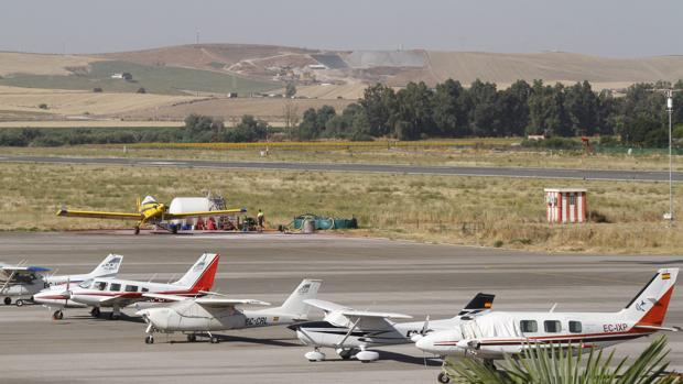 Pista del aeropuerto de Córdoba