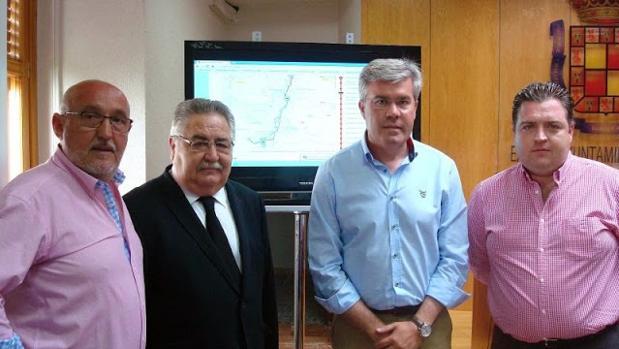 Juan Carlos Ruiz (izquierda), concejal de Seguridad Ciudadana del Ayuntamiento de Jaén