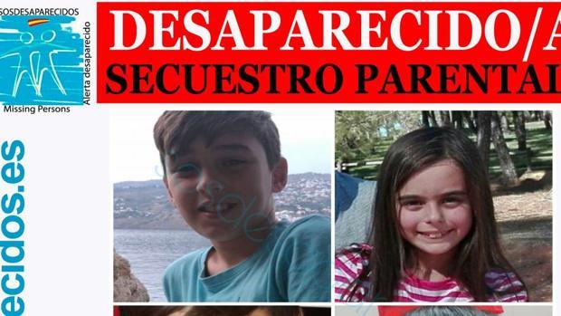 Imagen difundida por SOS Desaparecidos