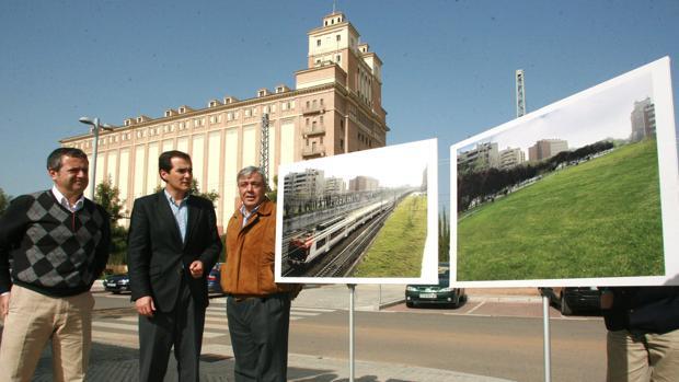 Uno de los proyectos presentados por el Ayuntamiento en 2008