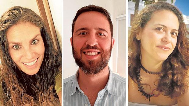 Rosi, Nicolás e Inmaculada