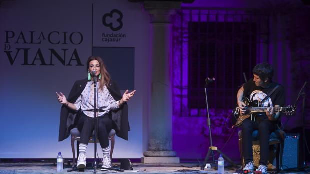 La cantante Bebe, en un concierto en octubre de 2017