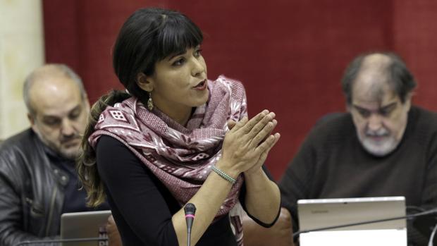 Teresa Rodríguez, coordinadora de Podemos en Andalucía