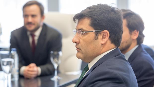Jesús León, nuevo propietario del Córdoba, en la Junta de Accionistas del 29 de diciembre