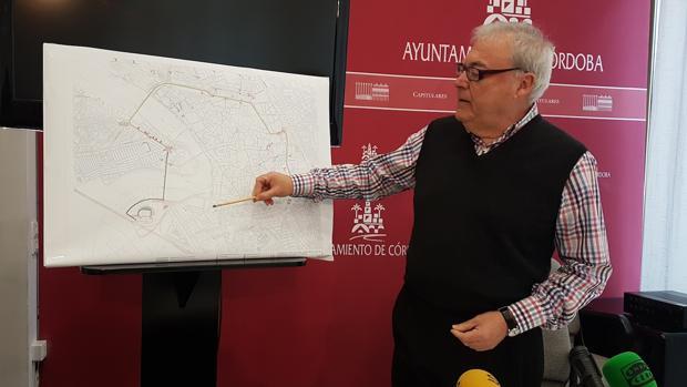 Emilio Aumente presenta el plan de tráfico